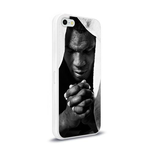 Чехол для Apple iPhone 5/5S силиконовый глянцевый  Фото 02, Майк Тайсон