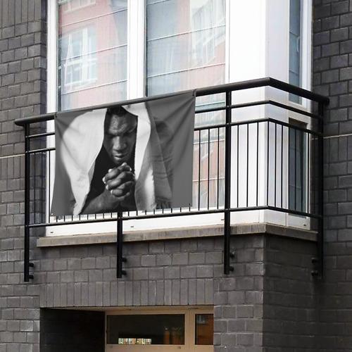 Флаг-баннер Майк Тайсон Фото 01