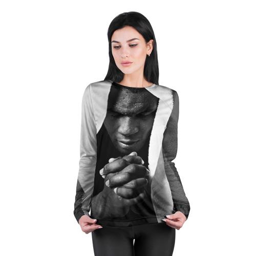Женский лонгслив 3D для беременных  Фото 04, Майк Тайсон