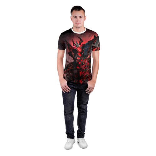 Мужская футболка 3D спортивная Shadow Fiend