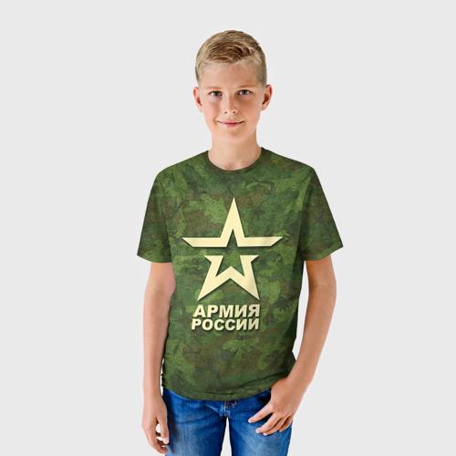 Детская футболка 3D  Фото 01, Армия России