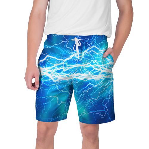 Мужские шорты 3D Молния