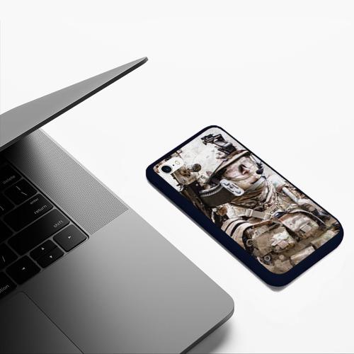 Чехол для iPhone 6/6S матовый ФСБ Альфа Фото 01