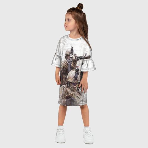 Детское платье 3D  Фото 03, ФСБ Альфа