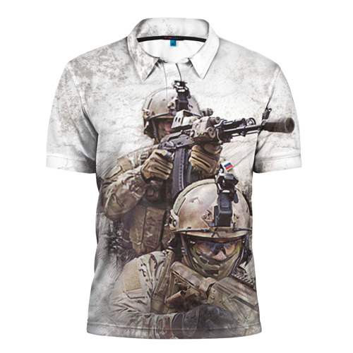 Мужская рубашка поло 3D
