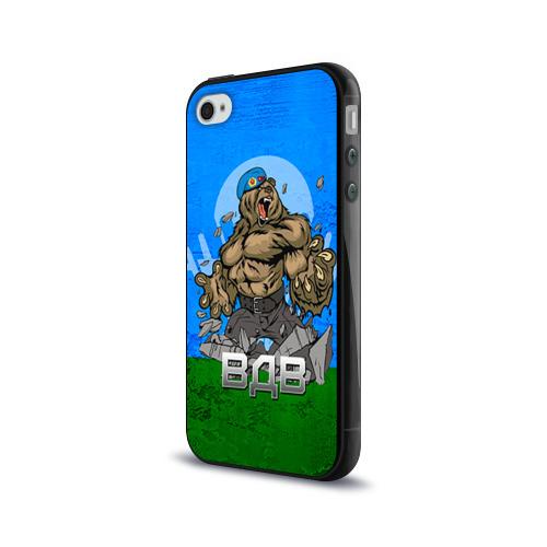 Чехол для Apple iPhone 4/4S силиконовый глянцевый  Фото 03, ВДВ