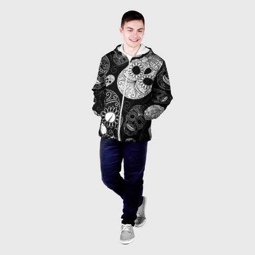 Мужская куртка 3D  Фото 03, Черепа