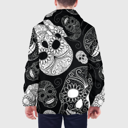 Мужская куртка 3D  Фото 05, Черепа