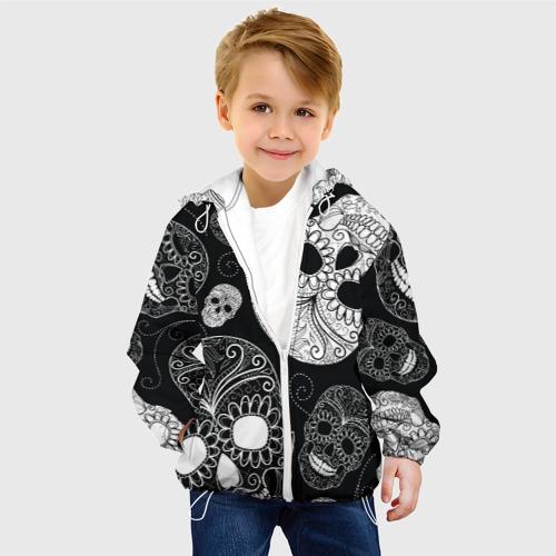 Детская куртка 3D  Фото 03, Черепа