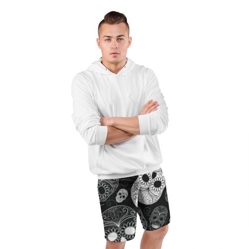 Мужские шорты спортивные Черепа Фото 01