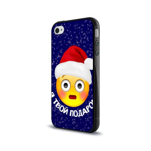 Чехол для Apple iPhone 4/4S силиконовый глянцевый  Фото 03, Твой подарок