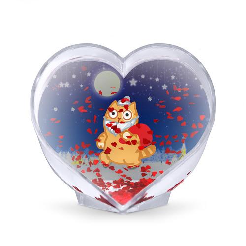 Сувенир Сердце  Фото 02, Новогодний кот