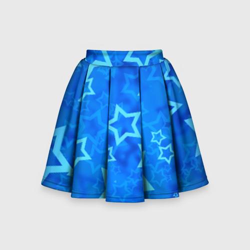 Детская юбка-солнце 3D Звезды