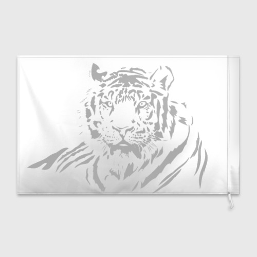 Флаг 3D  Фото 02, Тигр
