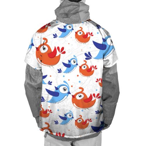Накидка на куртку 3D  Фото 02, Птицы