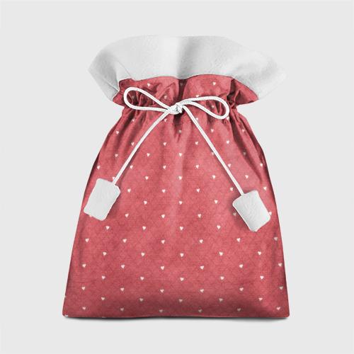 Подарочный 3D мешок Сердечки Фото 01