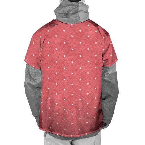 Накидка на куртку 3D  Фото 02, Сердечки