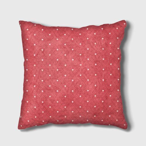 Подушка 3D Сердечки Фото 01