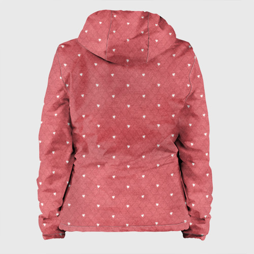 Женская куртка 3D Сердечки Фото 01