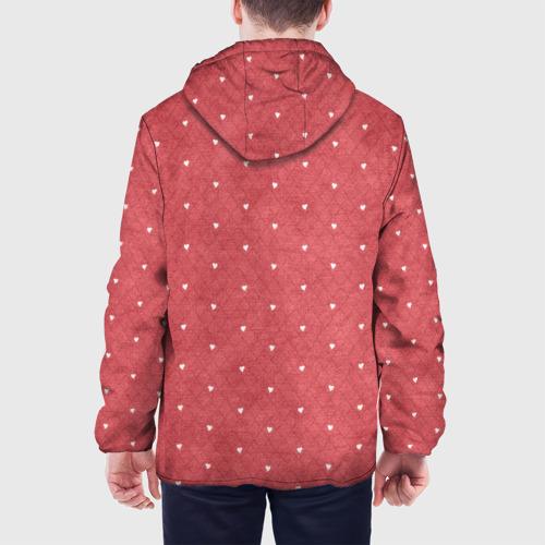 Мужская куртка 3D Сердечки Фото 01