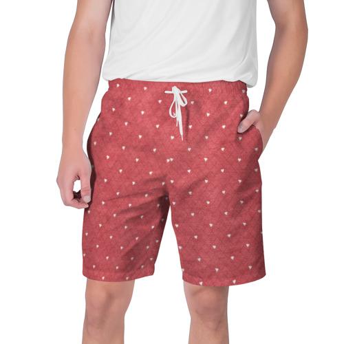 Мужские шорты 3D  Фото 01, Сердечки