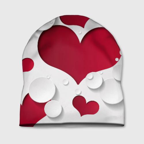 Шапка 3D Сердца