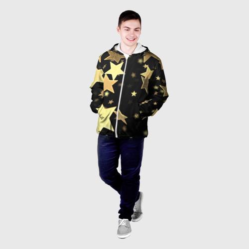Мужская куртка 3D  Фото 03, Золотые звезды