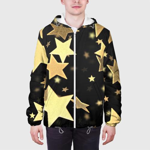 Мужская куртка 3D  Фото 04, Золотые звезды