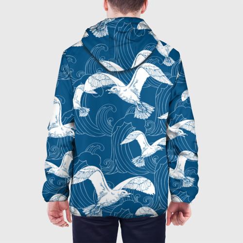 Мужская куртка 3D  Фото 05, Чайки