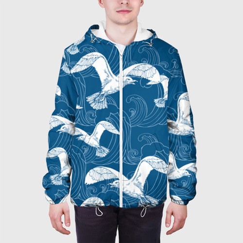 Мужская куртка 3D  Фото 04, Чайки