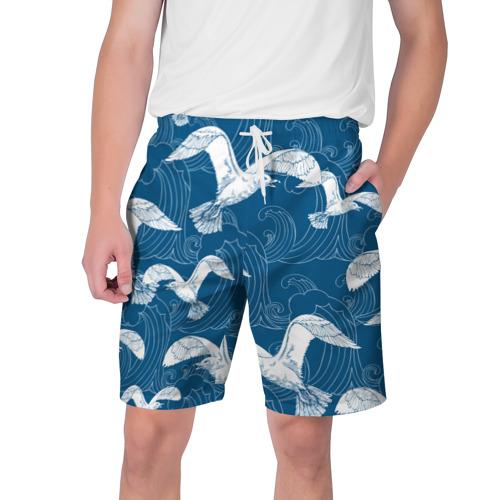Мужские шорты 3D Чайки