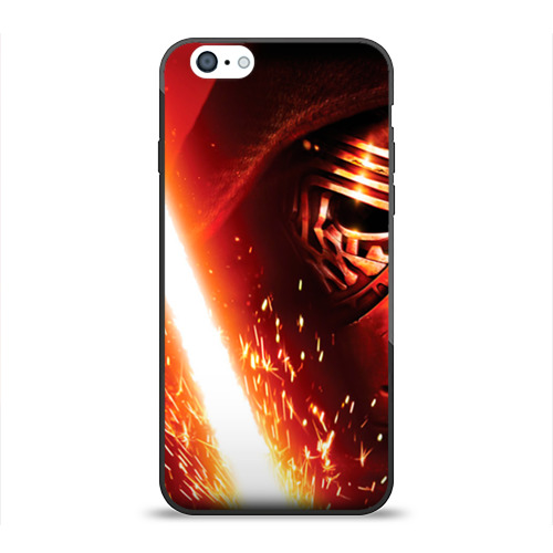 Чехол для Apple iPhone 6 силиконовый глянцевый Темный лорд от Всемайки
