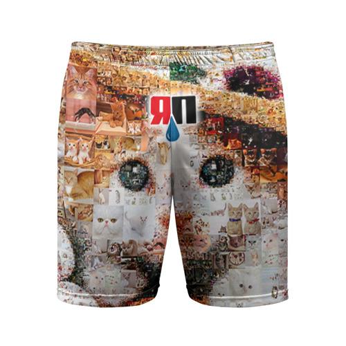 Мужские шорты 3D спортивные ЯПлакалъ