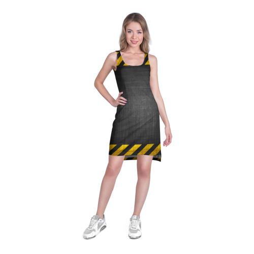 Платье-майка 3D  Фото 03, Дорожные работы