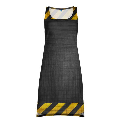 Платье-майка 3D Дорожные работы