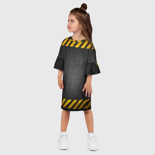 Детское платье 3D  Фото 03, Дорожные работы