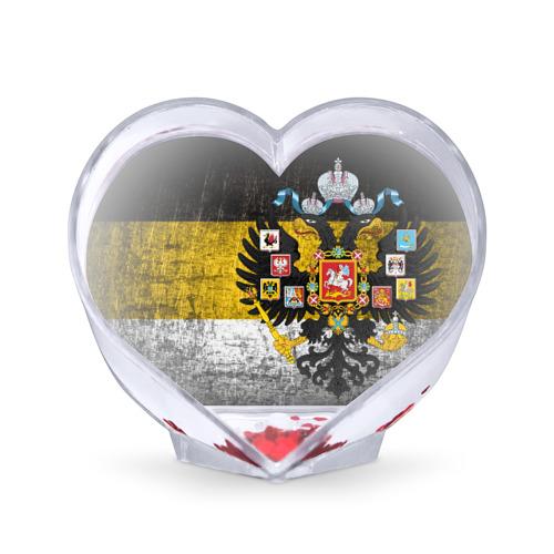 Сувенир Сердце Имперский флаг от Всемайки