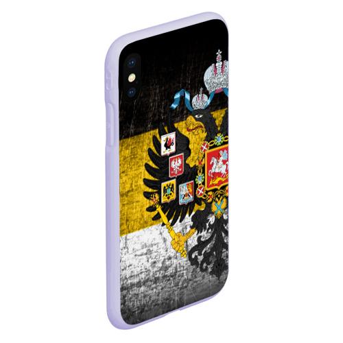 Чехол для iPhone XS Max матовый Имперский флаг Фото 01