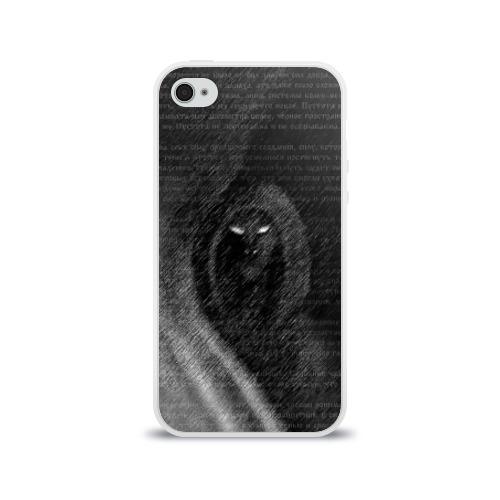 Чехол для Apple iPhone 4/4S силиконовый глянцевый  Фото 01, Тень