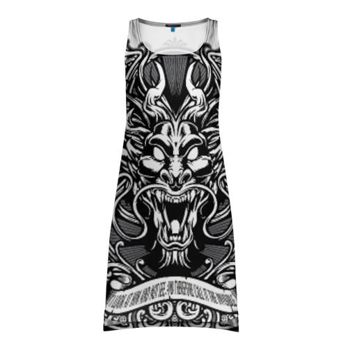 Платье-майка 3D Dragon
