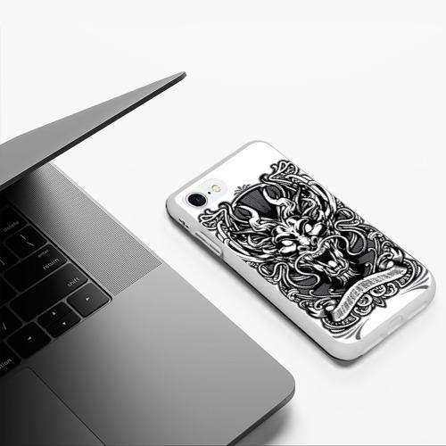 Чехол для iPhone 7/8 матовый Dragon Фото 01