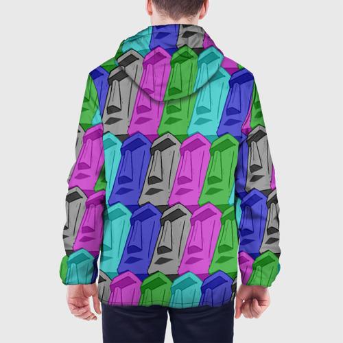 Мужская куртка 3D  Фото 05, Статуи Острова Пасхи