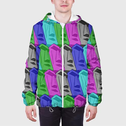 Мужская куртка 3D  Фото 04, Статуи Острова Пасхи