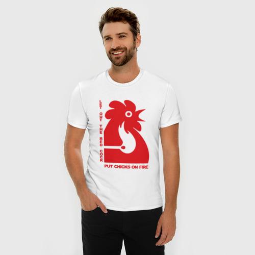 Мужская футболка премиум  Фото 03, Chicks on Fire