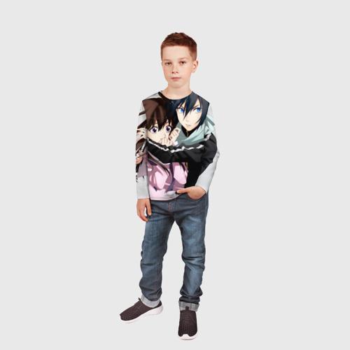 Детский лонгслив 3D  Фото 05, Бездомный бог