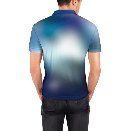 Мужская рубашка поло 3D  Фото 04, Бездомный бог