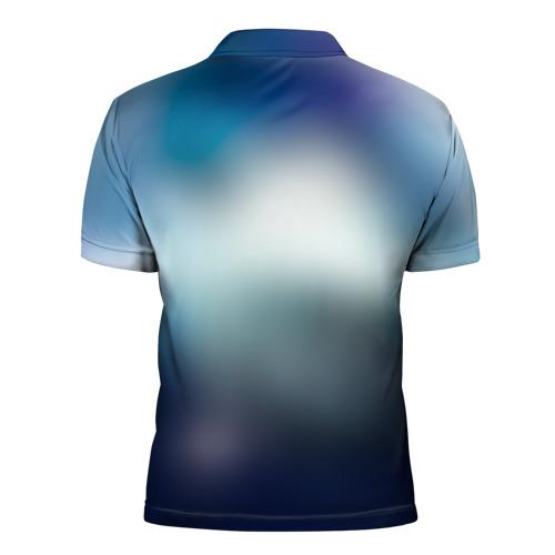 Мужская рубашка поло 3D  Фото 02, Бездомный бог