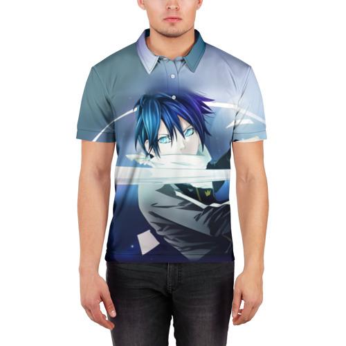 Мужская рубашка поло 3D  Фото 03, Бездомный бог