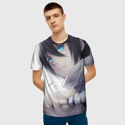 Мужская футболка 3D Бездомный бог Фото 01