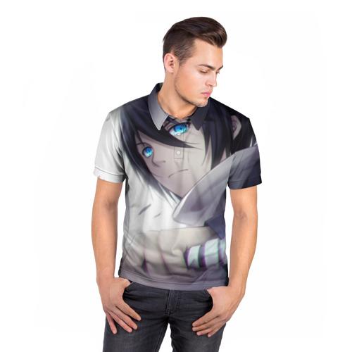 Мужская рубашка поло 3D  Фото 05, Бездомный бог